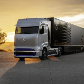 Mercedes-Benz Truck launch hydrogen fuel cell GenH2